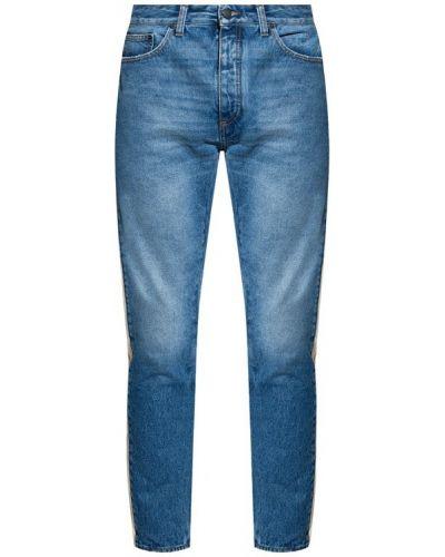 Mom jeans - niebieskie Palm Angels