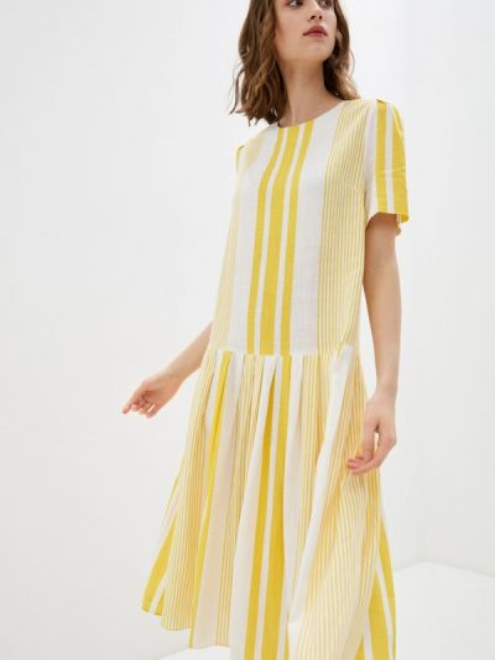 Желтое платье Bulmer