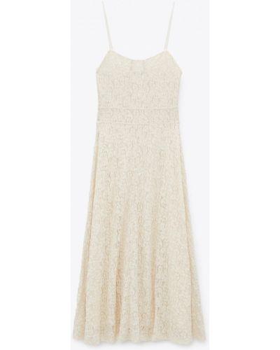 Ажурное платье на бретелях Zara