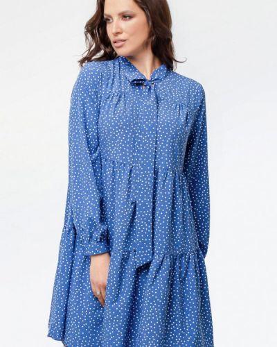 Синее повседневное платье Prima Linea