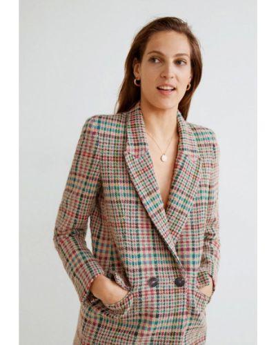 Пиджак бежевый Mango
