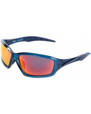 Оранжевые спортивные солнцезащитные очки с завязками Kappa