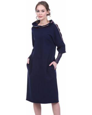 Платье с капюшоном сетчатое Lautus