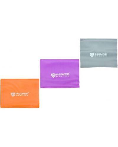 Тонкий фиолетовый маникюрный набор из плотной ткани Powersystem