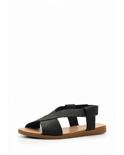 Черные сандалии итальянские Pieces