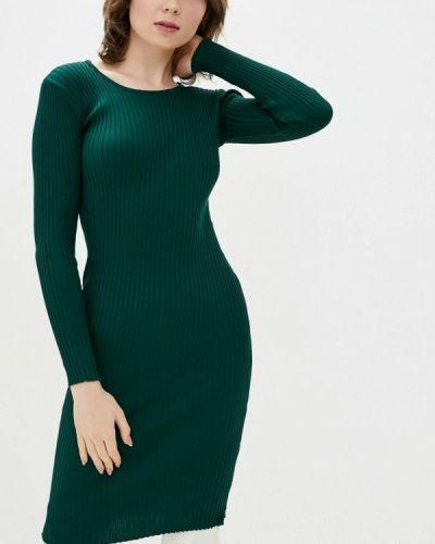 Зеленое платье-свитер Dasti