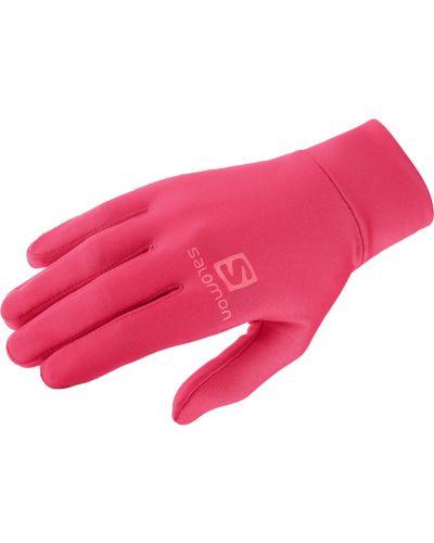 Ciepłe czarne rękawiczki Salomon