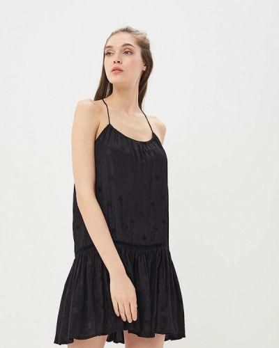 Прямое черное платье Femi Stories