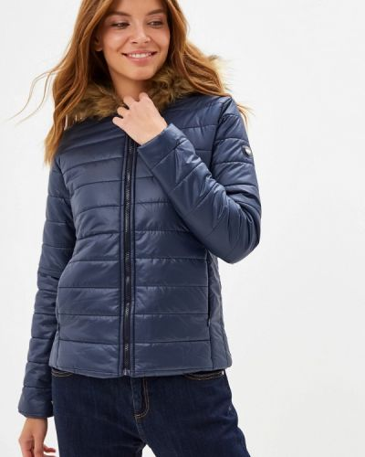 Синяя утепленная куртка Giorgio Di Mare