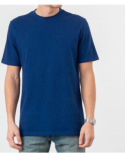 Niebieski t-shirt Aime Leon Dore