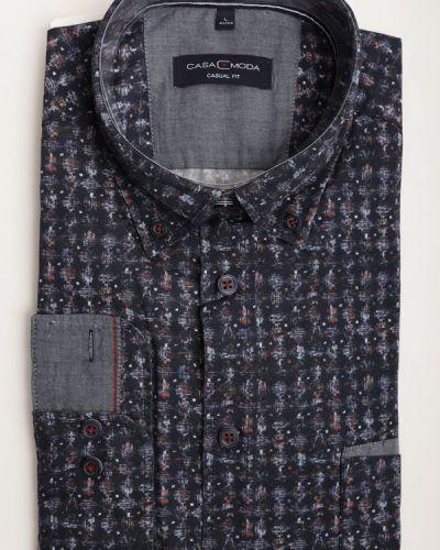 Хлопковая рубашка с длинным рукавом Casa Moda