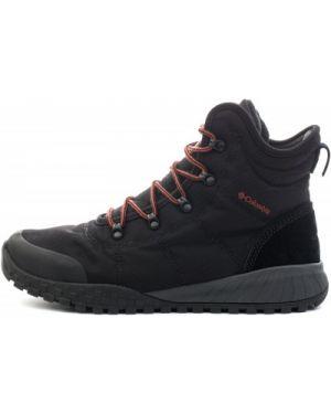 Треккинговые ботинки кожаные со шнуровкой Columbia