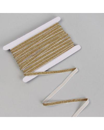 С рукавами резинка для волос на резинке золотая арт узор