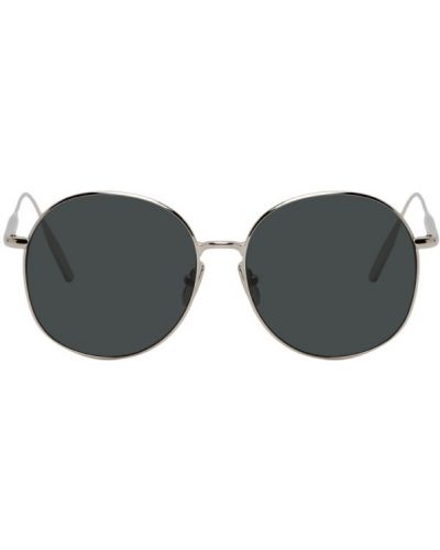 Okulary srebrne Byredo