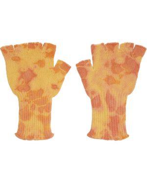 Rękawiczki bez palców z mankietami The Elder Statesman