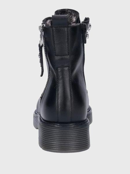 Черные ботинки Bugatti