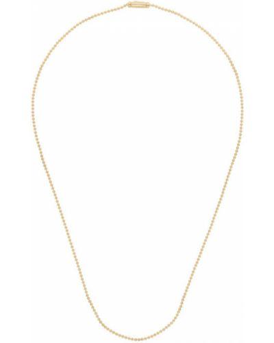 Шариковое ожерелье серебряное Tom Wood