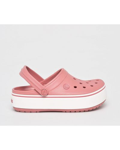 Розовые сабо Crocs