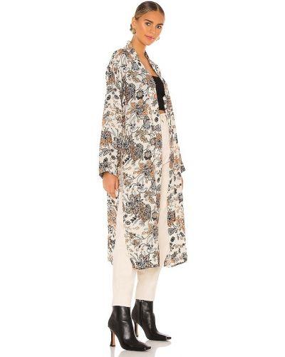 Bezpłatne cięcie beżowy kimono z wiskozy bezpłatne cięcie Free People