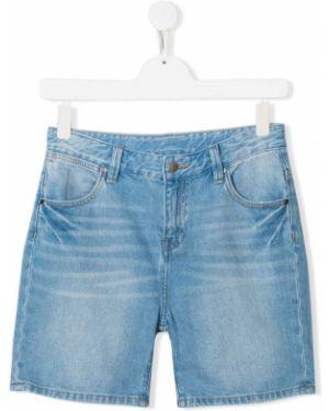 Шорты джинсовые классические Stella Mccartney Kids