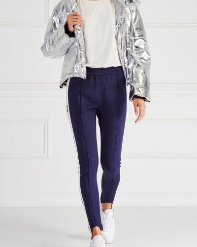 Спортивные брюки со стрелками с лампасами Msgm