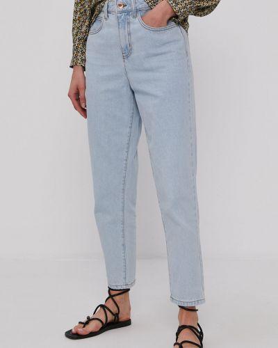 Niebieskie jeansy bawełniane Jacqueline De Yong