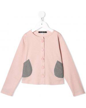Розовый топ с карманами Owa Yurika