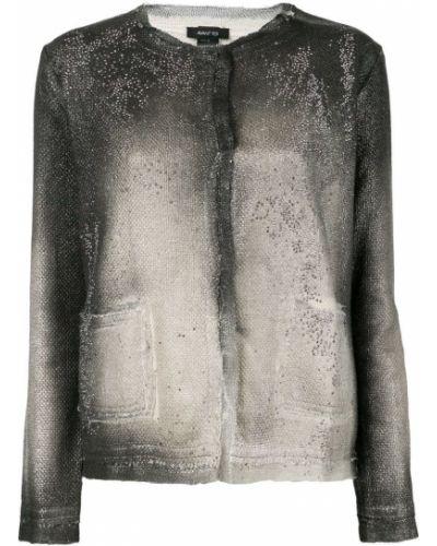 Приталенный удлиненный пиджак с карманами на пуговицах Avant Toi