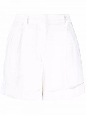 Хлопковые шорты - белые Incotex
