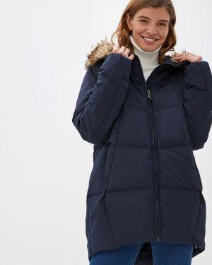 Зимняя куртка осенняя синий Befree