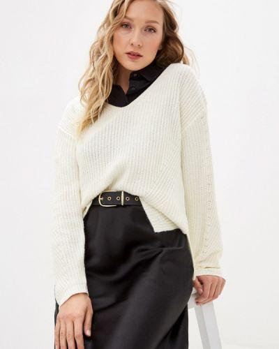 Белый пуловер William De Faye