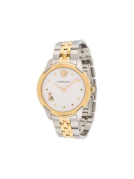 Zegarek szary do twarzy Versace