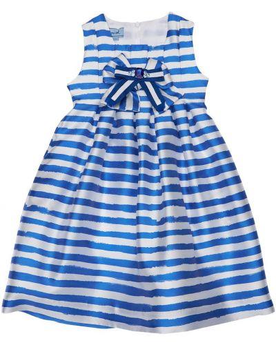 Синее платье в полоску Mi.mi.sol.