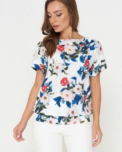 Блузка с коротким рукавом белая Sellin