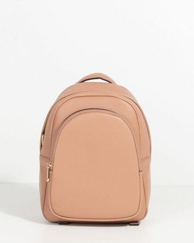 Кожаный рюкзак розовый Parfois