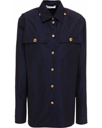 Czarna koszula bawełniana zapinane na guziki Givenchy