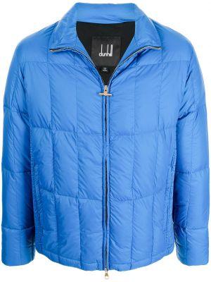 Niebieska kurtka bawełniana Dunhill