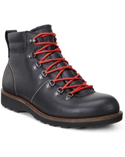 Ботинки на шнуровке осенние винтажные Ecco