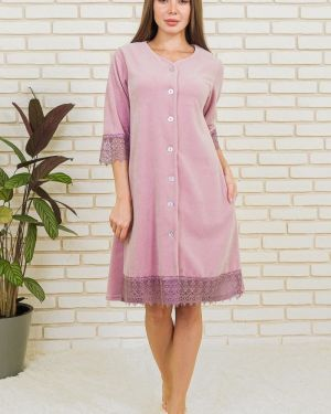 Халат велюровый расклешенный Lika Dress