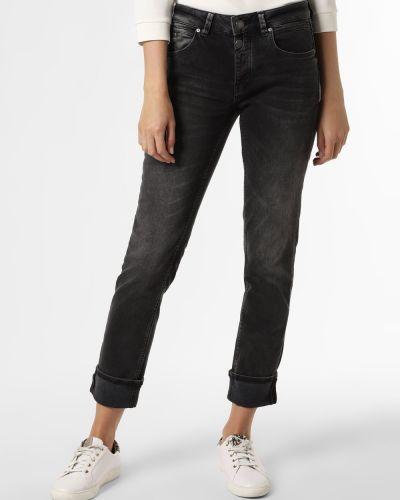 Szare mom jeans Rosner