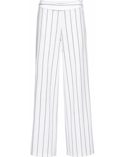 Свободные брюки палаццо в полоску Bonprix