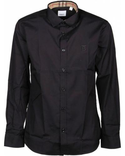 Czarna koszula na co dzień Burberry