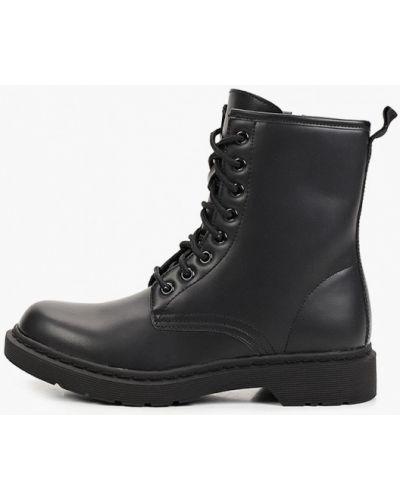 Черные ботинки из искусственного меха Sweet Shoes