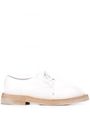 Туфли на каблуке кожаные без каблука Marsèll