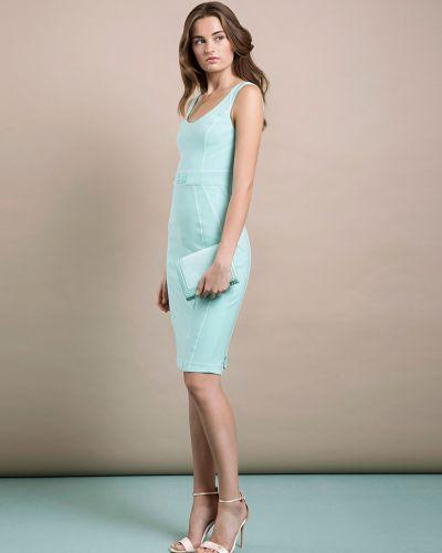 Платье весеннее зеленый Elisabetta Franchi