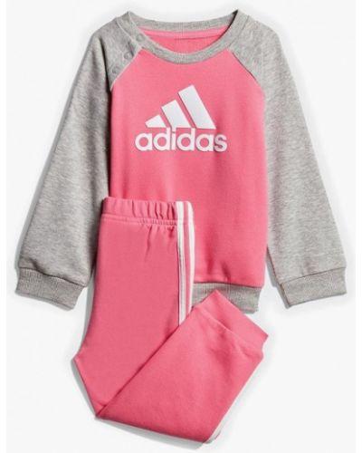 Спортивный костюм розовый Adidas