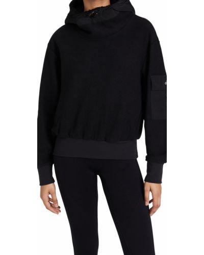Пуловер с декольте - черный Alo Yoga