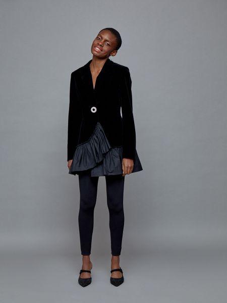Платье платье-пиджак с оборками 12storeez