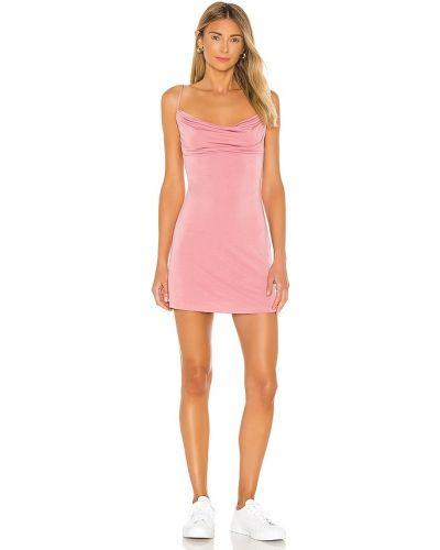Облегающее платье мини - розовое Privacy Please