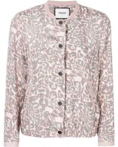 Розовая куртка Max & Moi